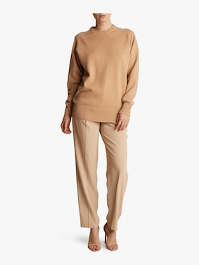 Oversize Cashmere Crew Neck Sweater