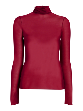 Long Sleeve Polo Neck