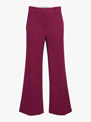 Cropped Kick Trouser