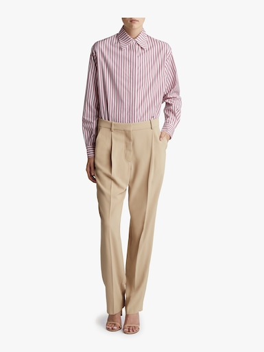 Low Waist Tapered Trouser