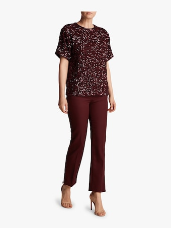 Square Sequin T-Shirt