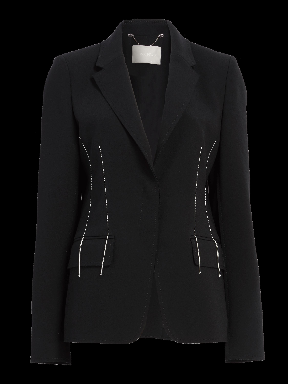 Compact Crepe Jacket