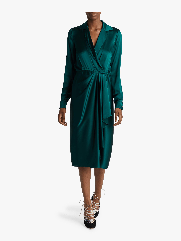 Silk Charmeuse Day Dress