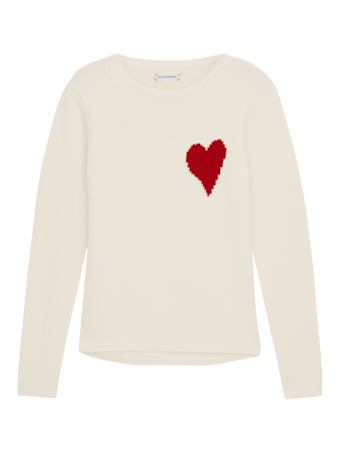 Confetti Heart Sweater