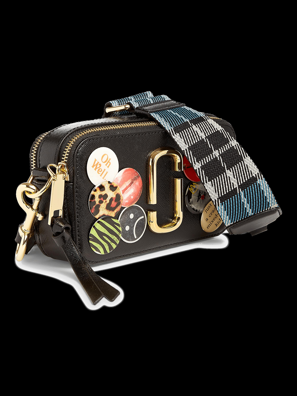 Snapshot Camera Bag With Badges
