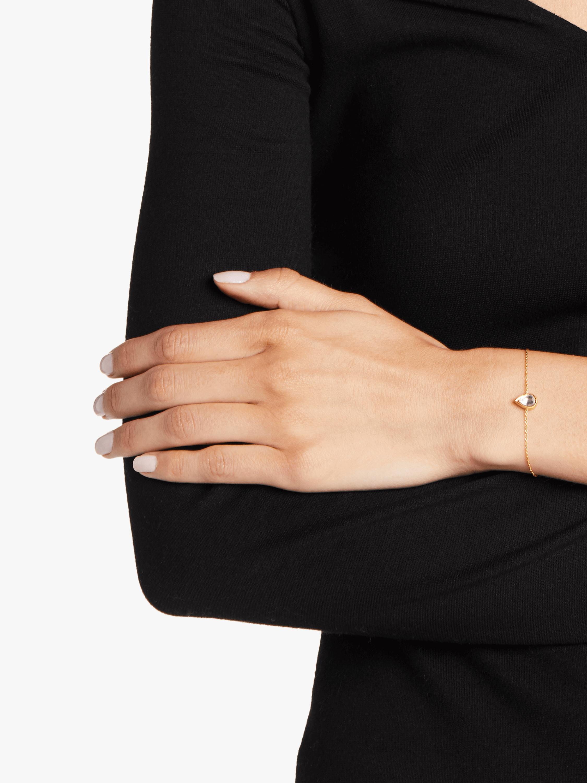 Kundan Vintage Diamond Teardrop Bracelet