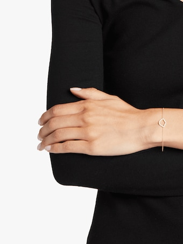 Nalika Lotus Silhouette Bracelet