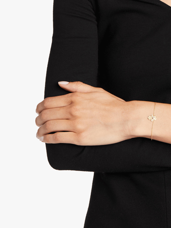 Heritage Hamsa Fine Chain Bracelet