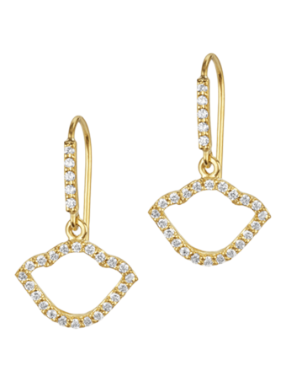 Nalika Lotus Silhouette Earrings
