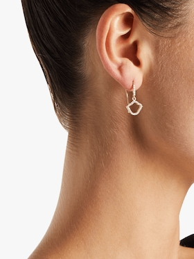 Nalika Lotus Silhouette Earrings