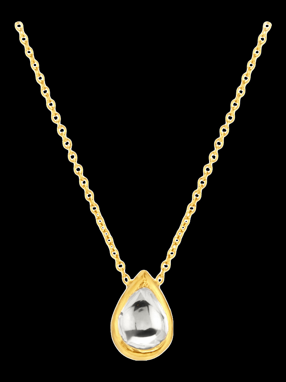 Kundan Vintage Diamond Pendant Necklace