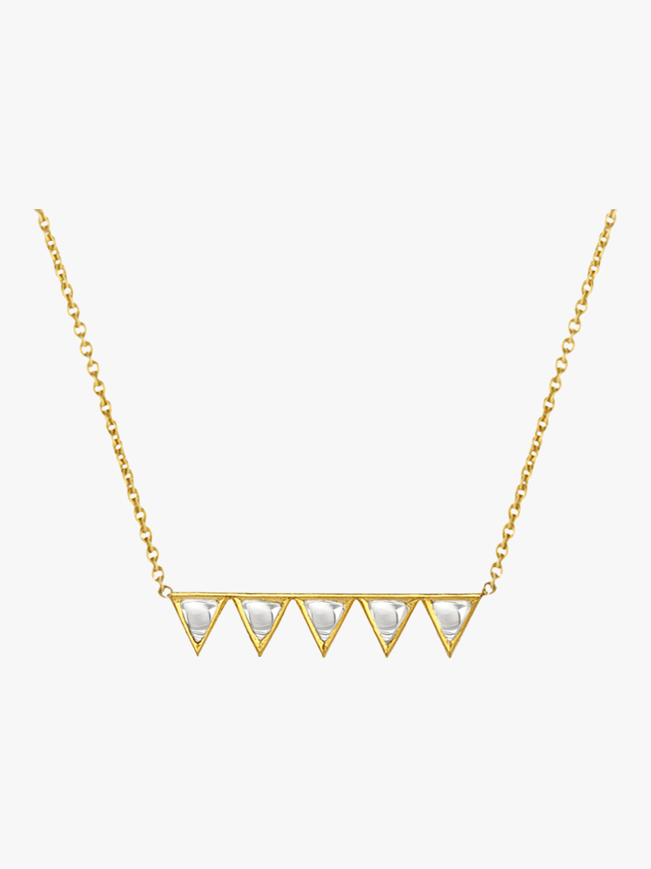 Kundan Vintage Diamond Polki Pendant Necklace