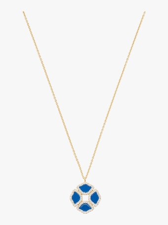 Manjari Lotus Pendant Necklace