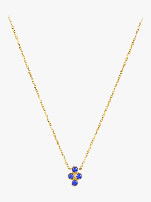 Legend Amrapali Tarakini Four Stone Pendant Necklace 1
