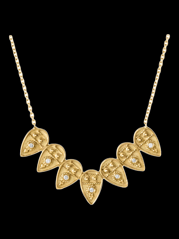 Heritage Petal Pendant Necklace
