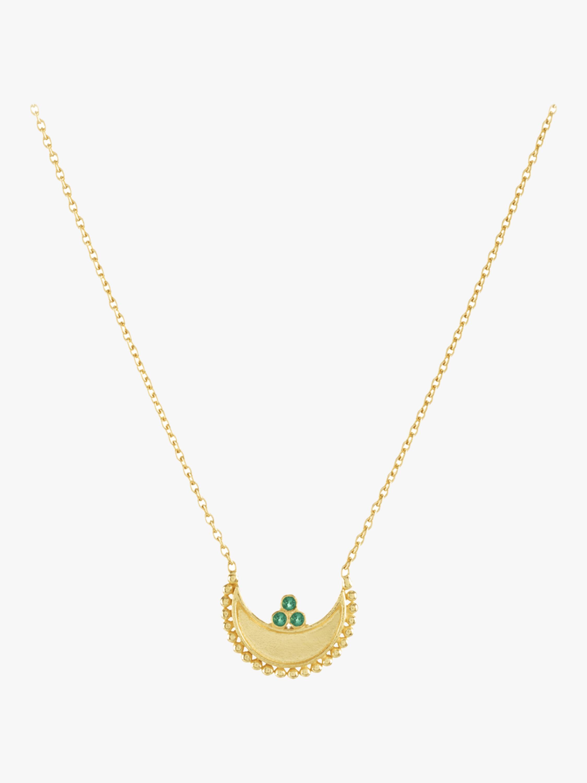 Heritage Crescent Pendant Necklace