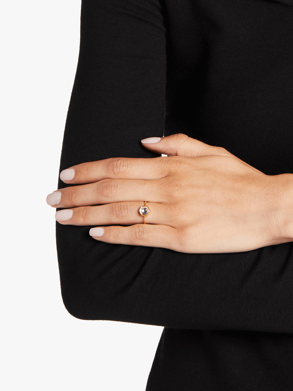 Kundan Vintage Diamond Hexagon Ring