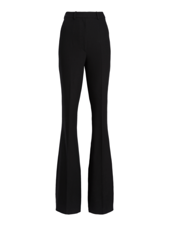 Side Zip Flare Pants
