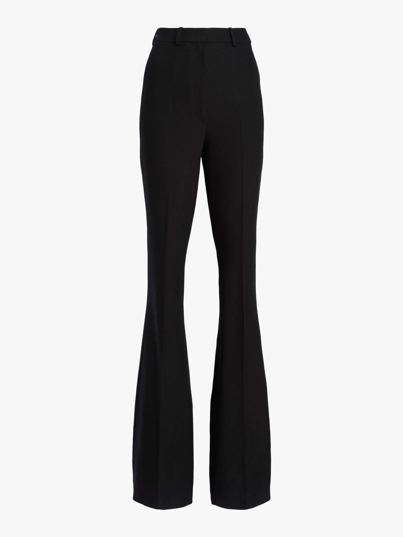 Side Zip Flare Pants