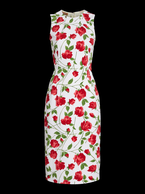 Crewneck Sheath Dress