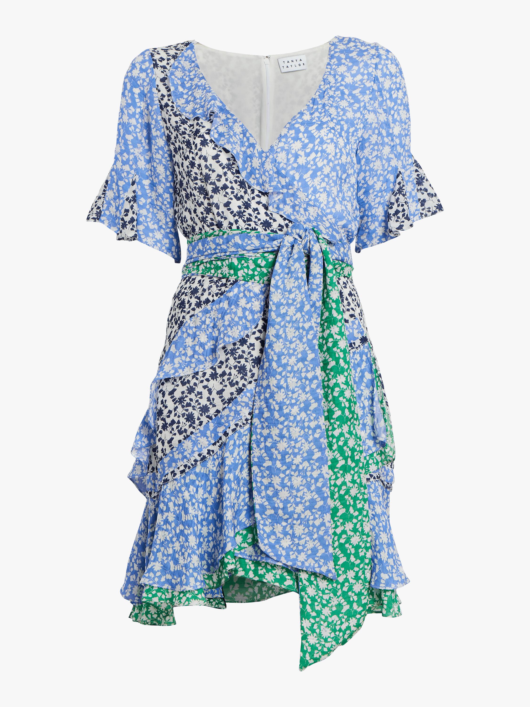 Bianka Ditsy Floral Silk Dress