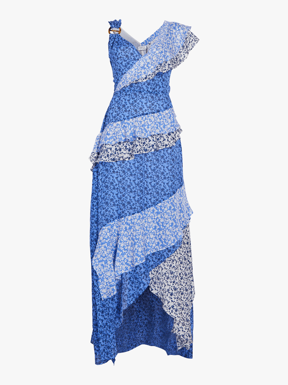 Gael Ruffled Ditsy Floral Dress