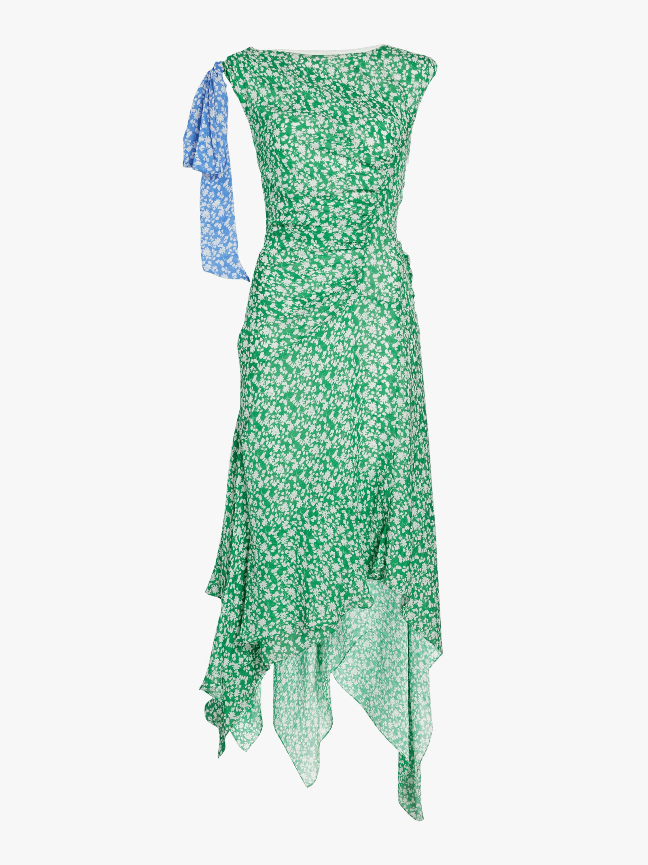 Carita Ditsy Floral SIlk Dress