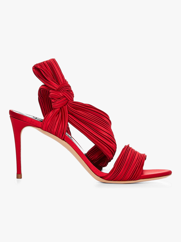 Plisse Sandal