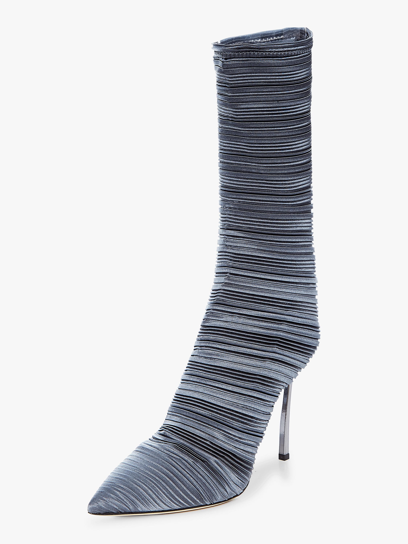 Plisse Half Boot