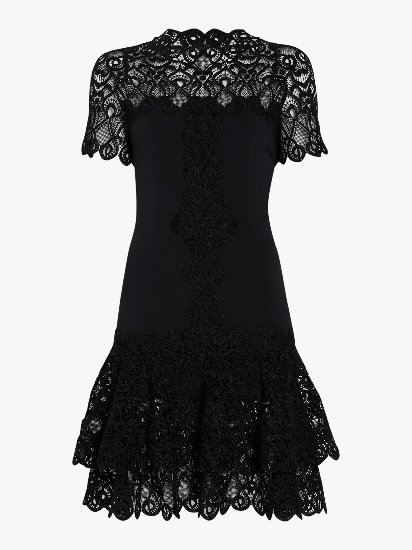 Lace Mini Tee Dress