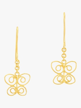 Burmese Butterfly Earrings