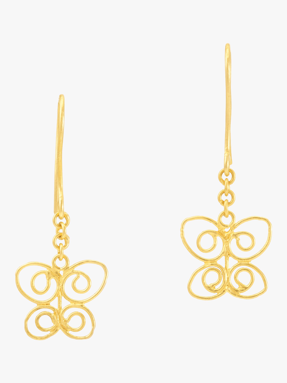 Burmese Butterfly Earrings