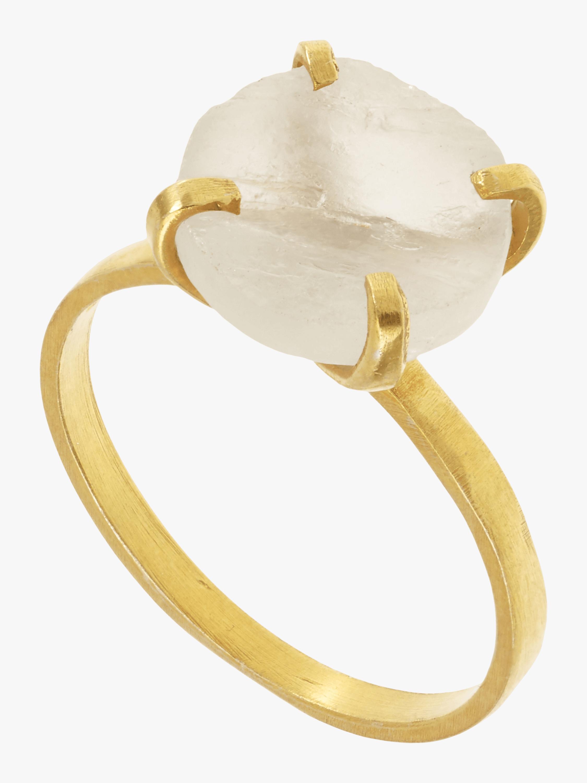 Pippa Small Aquamarine Ring 1