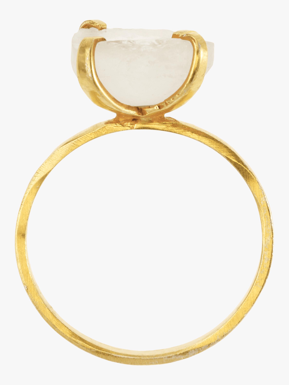 Pippa Small Aquamarine Ring 2