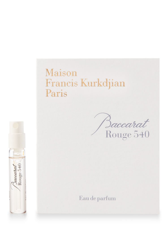 Maison Francis Kurkdjian Baccarat Rouge 540 Eau De Parfum Sample