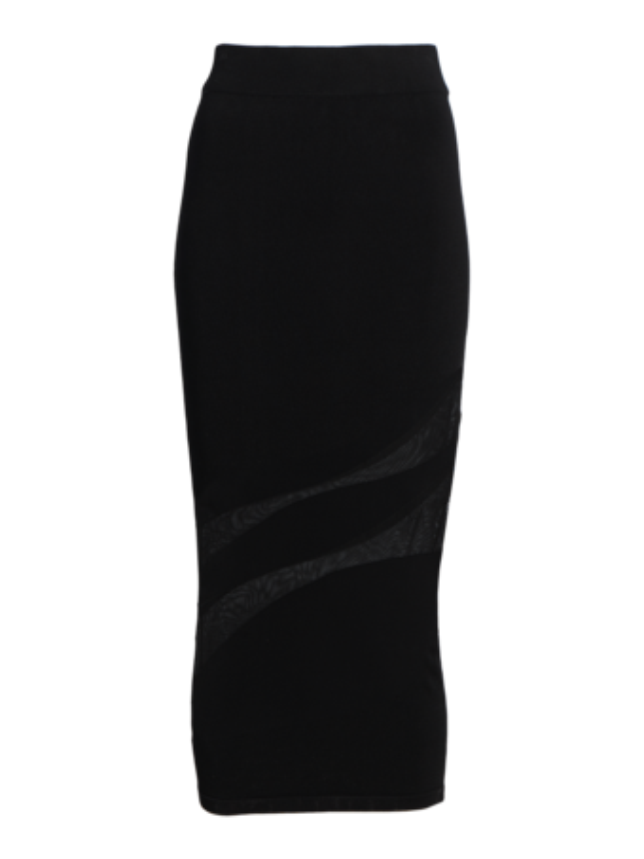 Sheer Organic Pencil Skirt