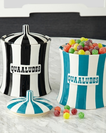 Jonathan Adler Vice Quaaludes Canister - 77oz 2