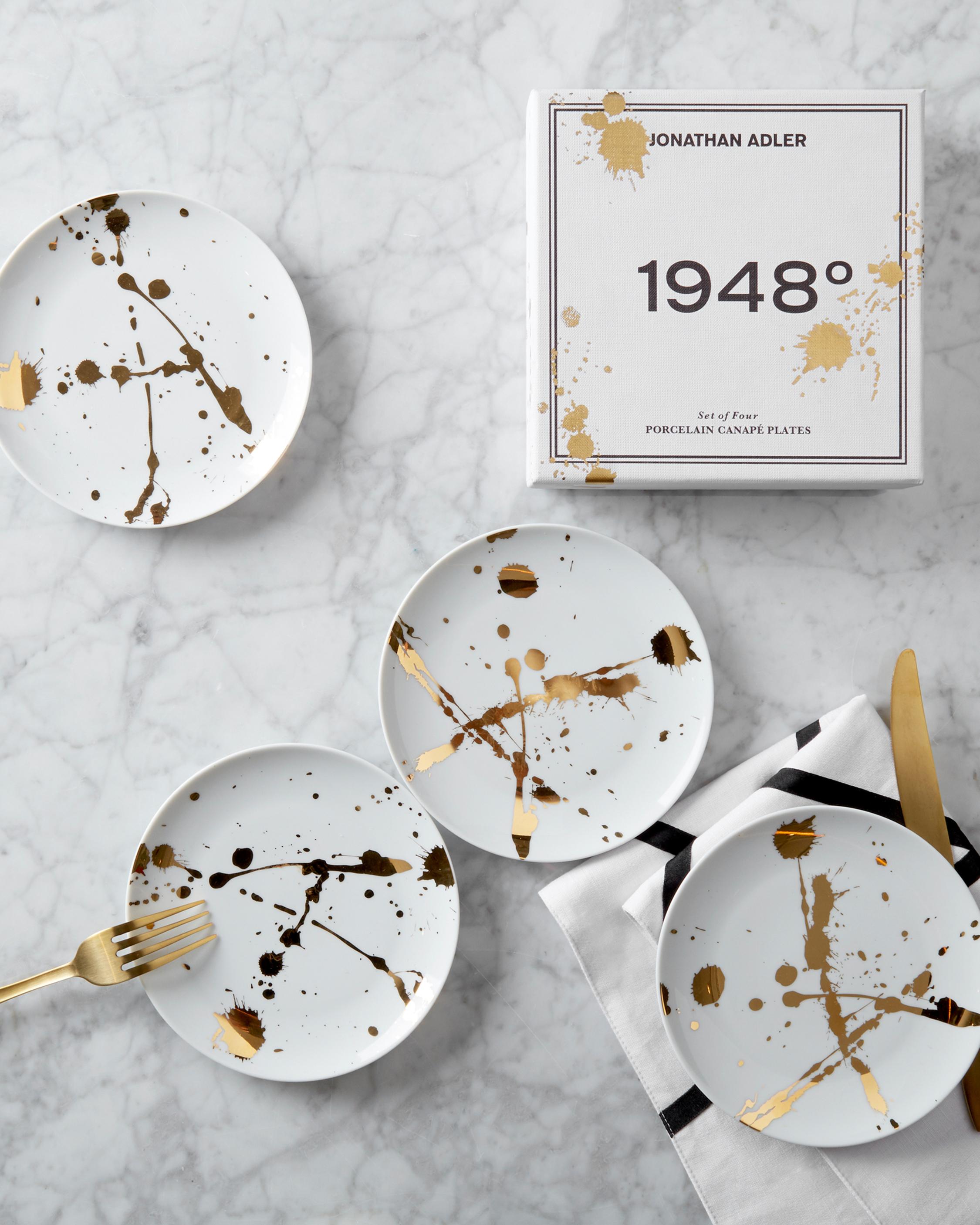 Jonathan Adler 1948° Canape Plate Set 2