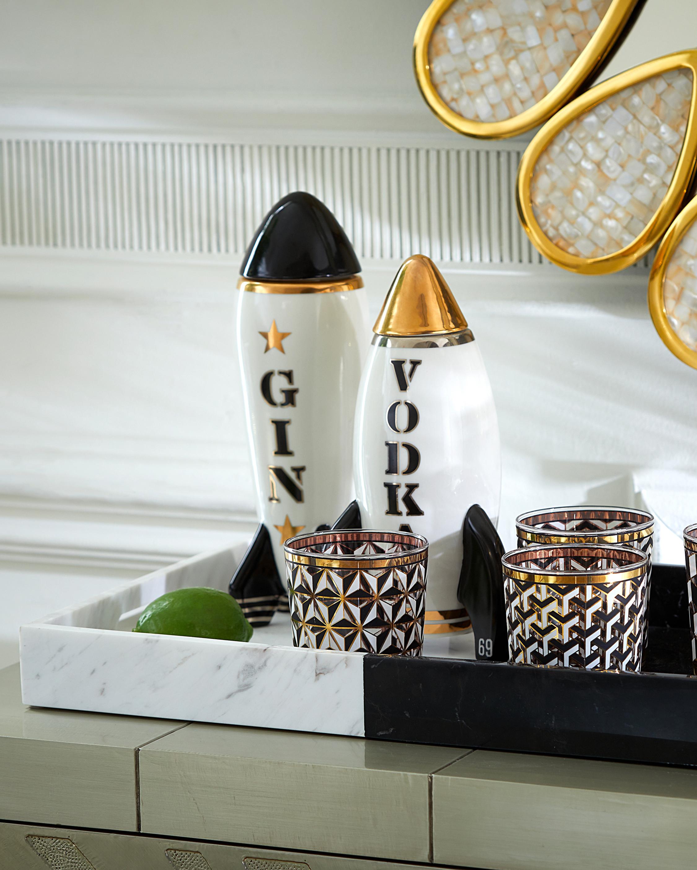 Jonathan Adler Bottle Rocket Decanter Gin