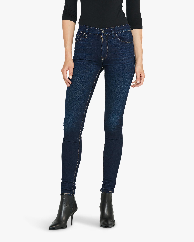 Hudson Barbara High-Waist Super-Skinny Jeans 1