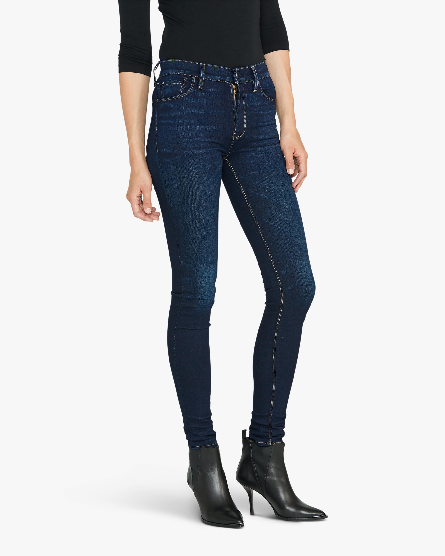 Hudson Barbara High-Waist Super-Skinny Jeans 4