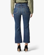 Hudson Remi High-Rise Cropped Straight Jeans 2
