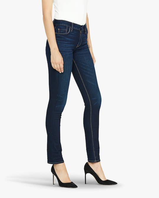 Hudson Nico Mid-Rise Straight Jeans 1