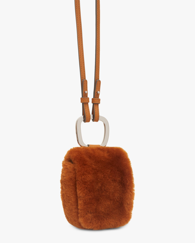 Danse Lente Caramel Faux Fur Pablo Bag 2