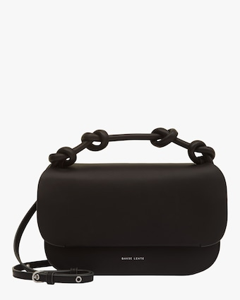Danse Lente Black Lea Knot Bag 1