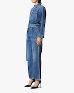 Hudson Denim Utility Cropped Jumpsuit 1