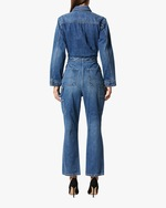 Hudson Denim Utility Cropped Jumpsuit 3