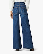 Hudson Nora High-Rise Wide-Leg Jeans 3
