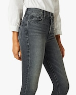 Hudson Holly High-Rise Cropped Bootcut Jeans 4