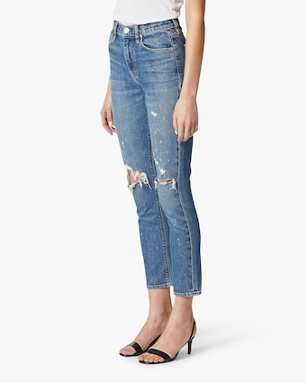 Hudson Holly High-Rise Crop Straight Jeans 2